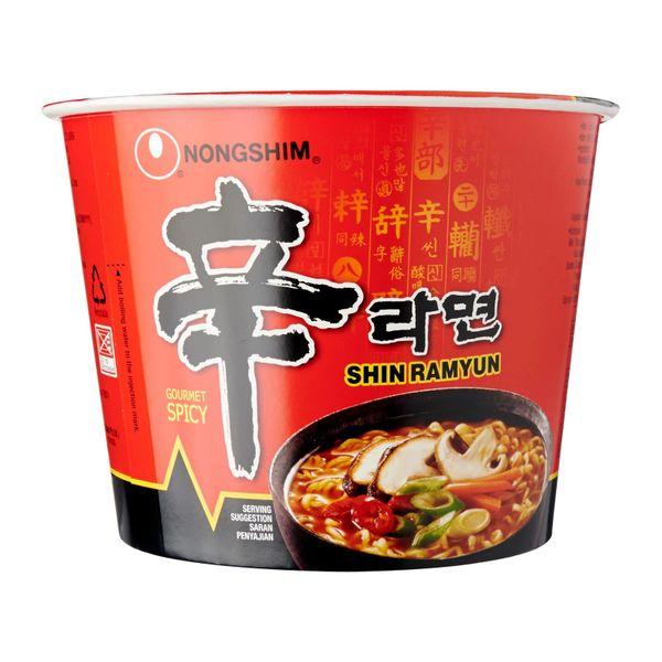 Nongshim Spicy Mushroom Shin Ramyun Bowl 117g
