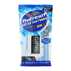 Gatsby Facial Paper Ice-Type 15 Sheets 87 g
