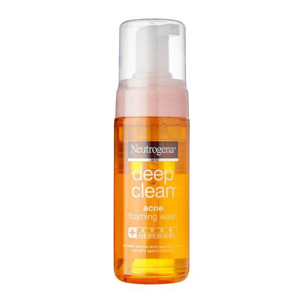 Neutrogena Deep Clean Acne Foaming Wash 150 ml