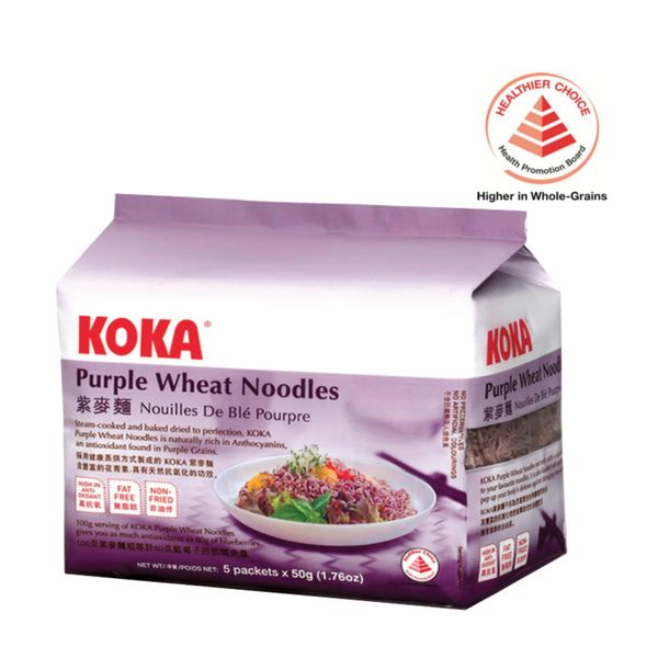 Koka Purple Wheat Noodle 5 x 50g