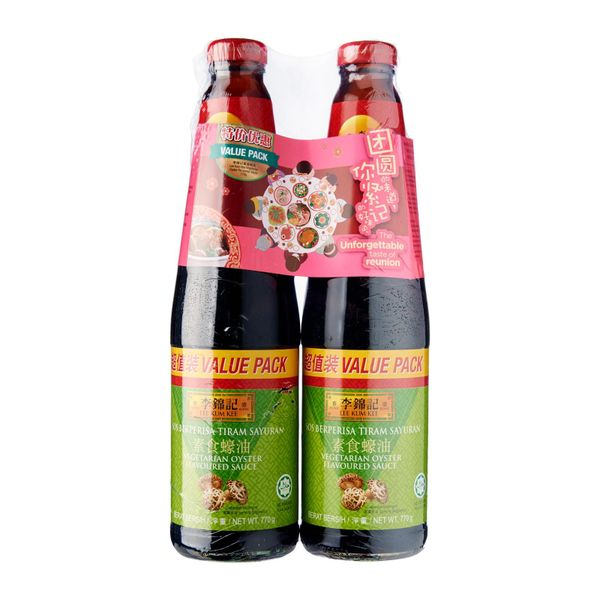 Lee Kum Kee Vegetarian Os Twin Pack 770 g