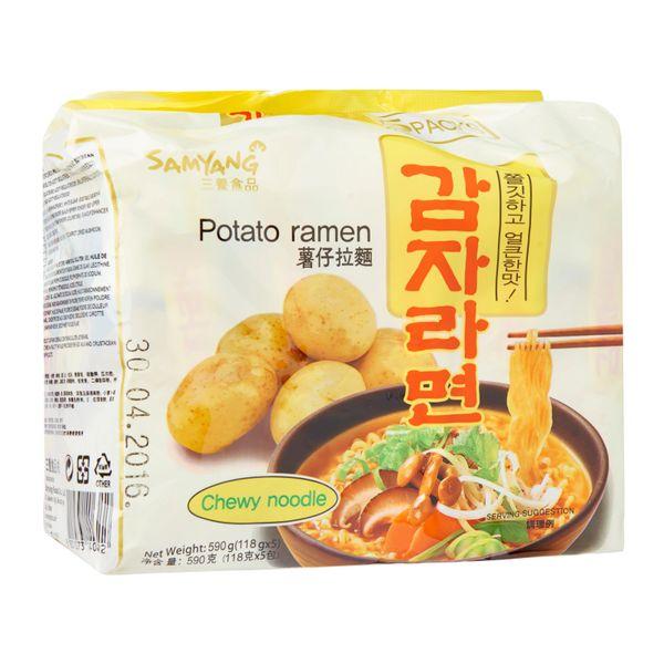Samyang Potato Ramen 5s 5 x 120g