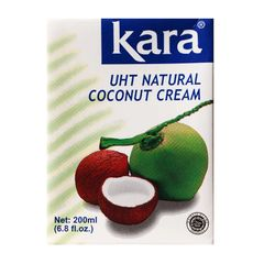 Kara UHT Natural Coconut Cream 200 ml