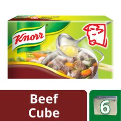 Knorr Beef Stock Cubes (X6) 60 g