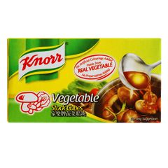 Knorr Vegetable Stock Cubes (X6) 60 g