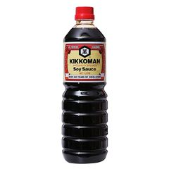 Kikkoman Naturally Brewed Soy Sauce 1 L
