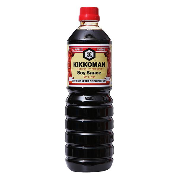 Kikkoman Naturally Brewed Soy Sauce 1 L