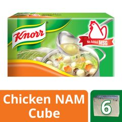 Knorr No Added MSG Chicken Stock Cubes (X6) 60 g