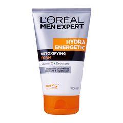 L'Oreal Paris Men Expert Hydra Energetic Detoxifying Foam 100ml