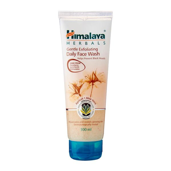 Himalaya Herbals Gentle Exfoliating Daily Face Wash 100ml