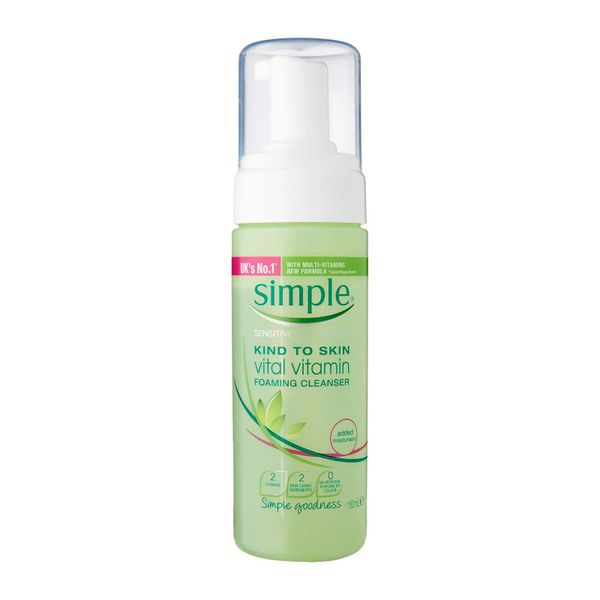 Simple Vital Vitamin Foaming Cleanser 150ml