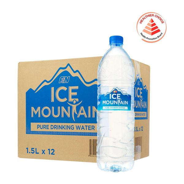 Ice Mountain Pure Drinking Water - Case 12 x 1.5 L