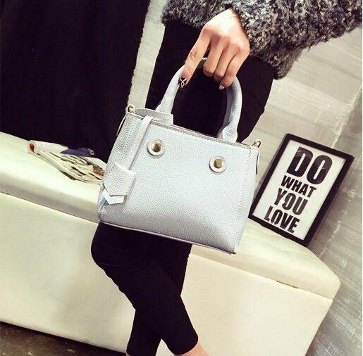 Simple Design Solid Color Casual Handbags