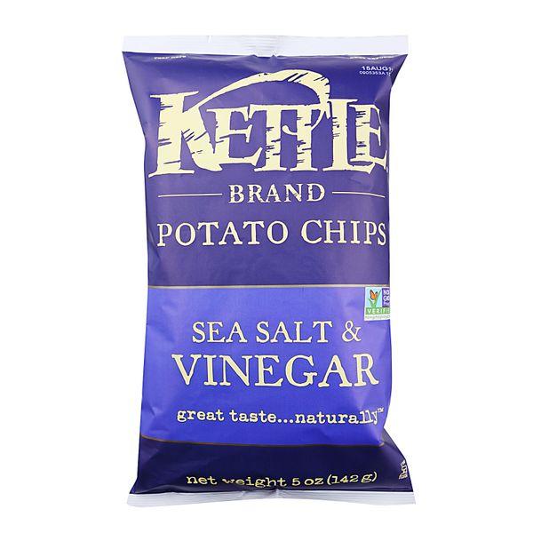 Kettle Sea Salt And Vinegar Potato Chips 142 g