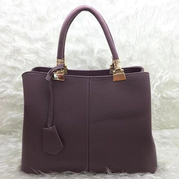 High Quality Solid Zipper Women Work Handle Bag