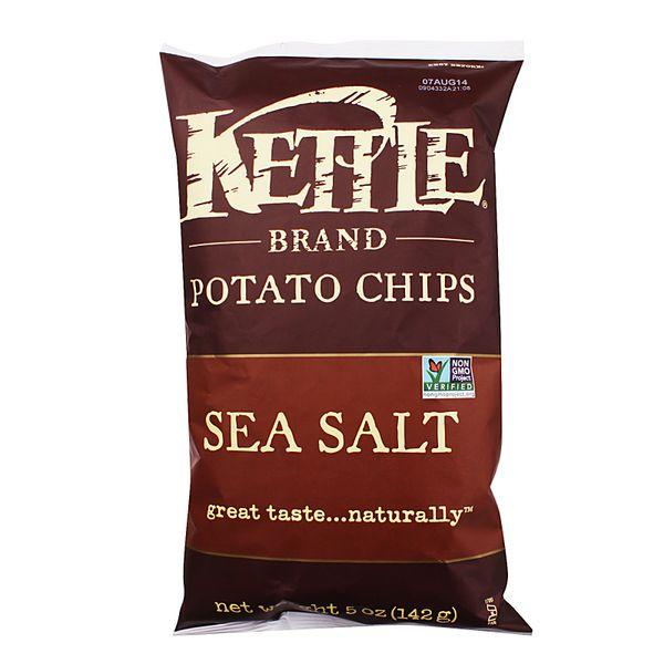 Kettle Sea Salt Potato Chips 142 g