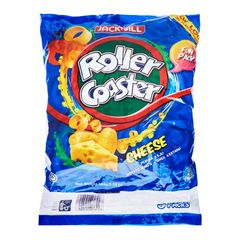 Roller Coaster Cheese Funpack Extruded Snack 8 x 18 g