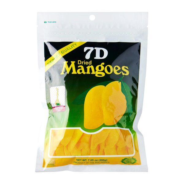 7D Dried Mangoes 200G 200 g