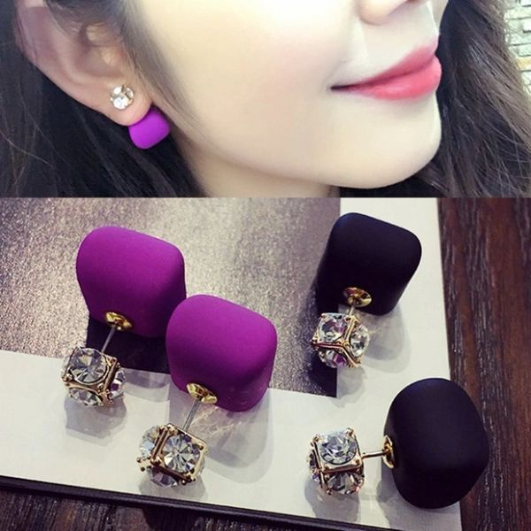Design Crystal Decorated Earring