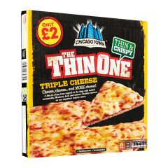 Chicago Town Thin Cheese Pizza - Frozen 305 g
