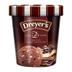 Dreyer's D-Collection Belgian Triple Chocolate Ice Cream 473 ml