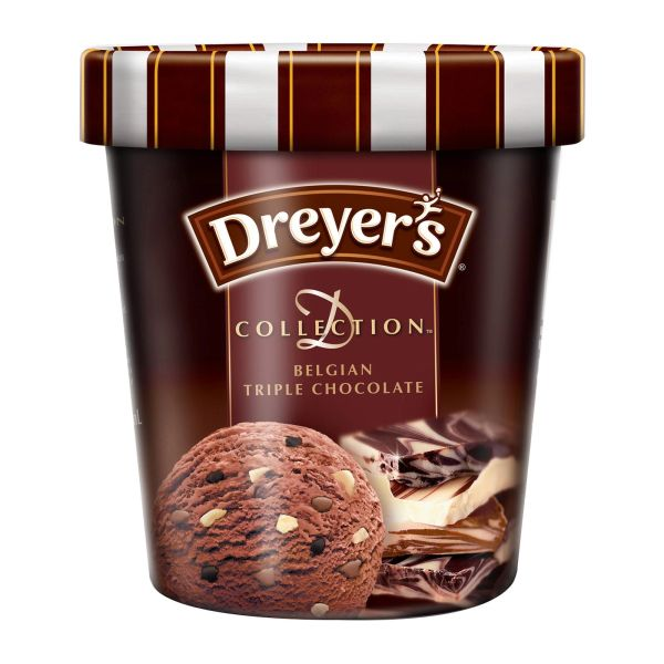 Dreyer's D-Collection Belgian Triple Chocolate Ice Cream 473 ml