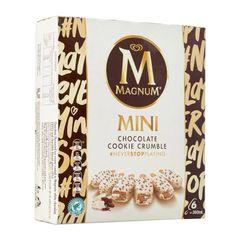 Magnum Mini Chocolate Cookie Crumble Multipack Ice Cream 360 ml