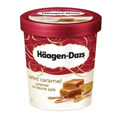 Haagen-Dazs Salted Caramel Ice Cream 473 ml