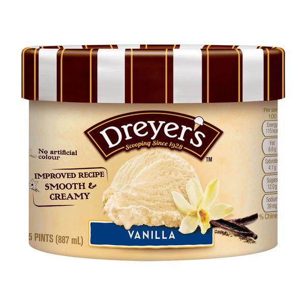 Dreyer's Grand Ice Cream - Vanilla 887 ml