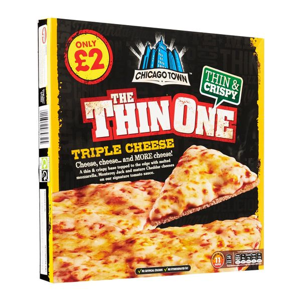 Chicago Town Thin Cheese Pizza 305g