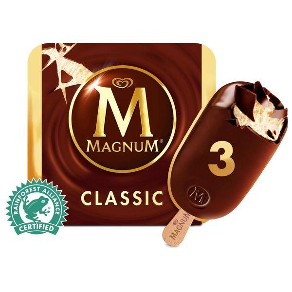 Magnum Classic Multipack Ice Cream 3 x 100 ml