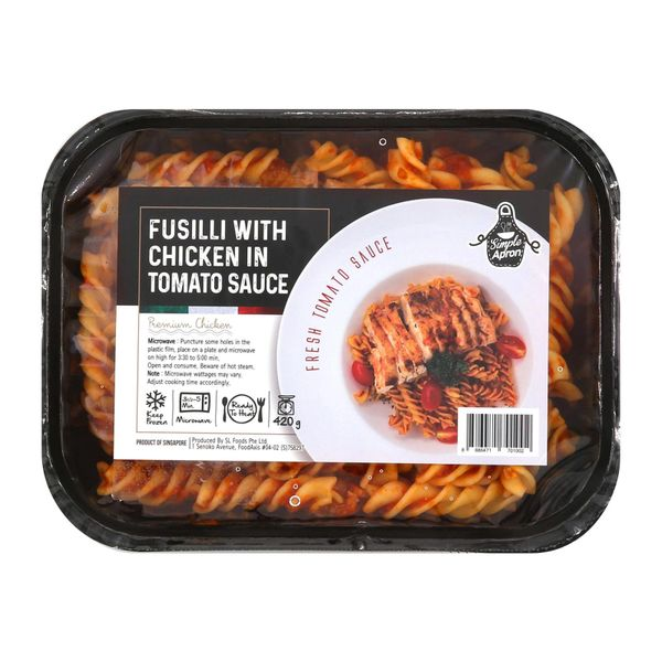 Simple Apron Fusilli With Chicken In Tomato Sauce 420g