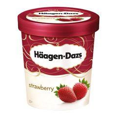 Haagen-Dazs Strawberry Ice Cream 473 ml