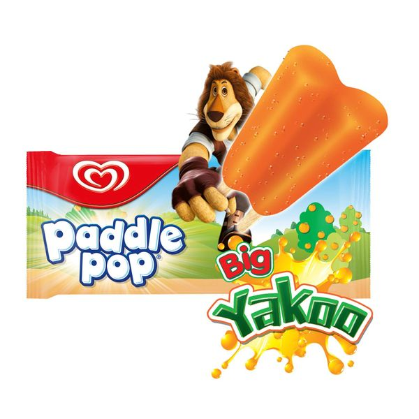 Paddle Pop Yakoo Orange Ice Cream Stick 74 ml