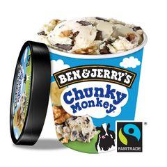 Ben & Jerry's Chunky Monkey Ice Cream 458 ml