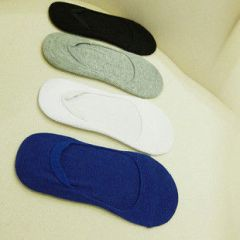 Korean Style Men Ankle Socks Fashion Casual Warm Thin Four Colors
