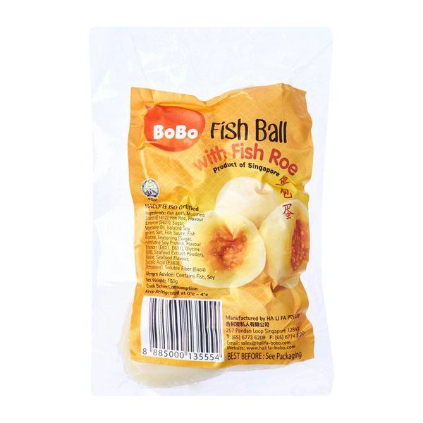 BOBO Fish Ball With Fish Roe 150 g
