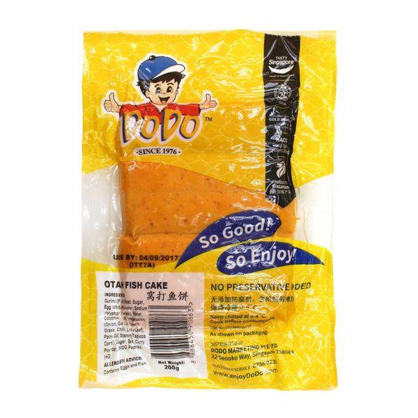 DoDo Otah Fish Cake - Chilled 200 g