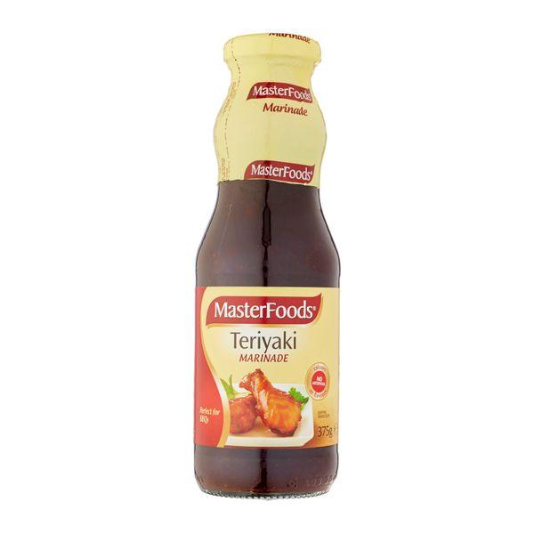 Masterfoods Teriyaki Wet Marinade Bottle 375 g
