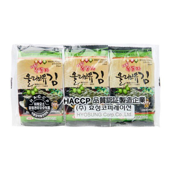 Hyosung Roasted Seaweed 3 x 4.5 g