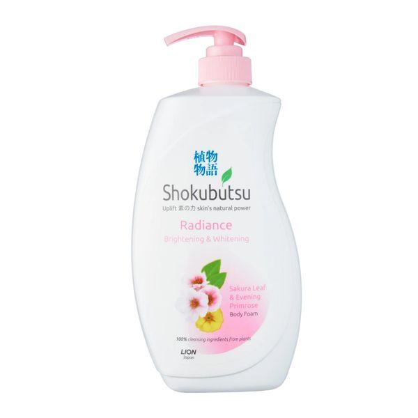 Shokubutsu Radiance Body Foam - Brightening And Whitening 900 ml