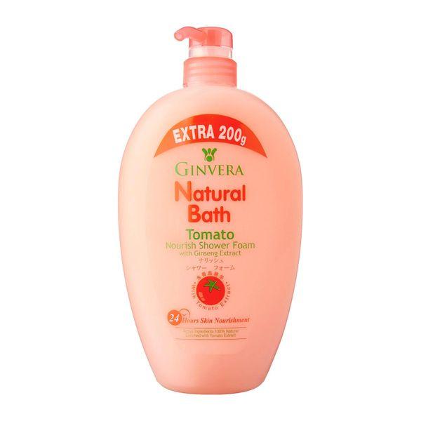 Ginvera Natural Bath Tomato Nourish Shower Foam 1000g