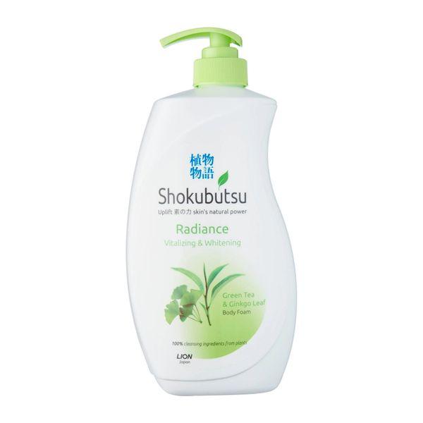 Shokubutsu Radiance Body Foam - Vitalizing And Whitening 900 ml