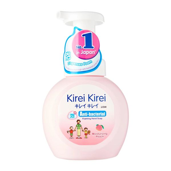 Kirei Kirei Moisturizing Peach Anti-Bacterial Foaming Hand Soap 250 ml
