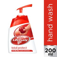 Lifebuoy Total Protect Acti-Bacterial Handwash 200 ml