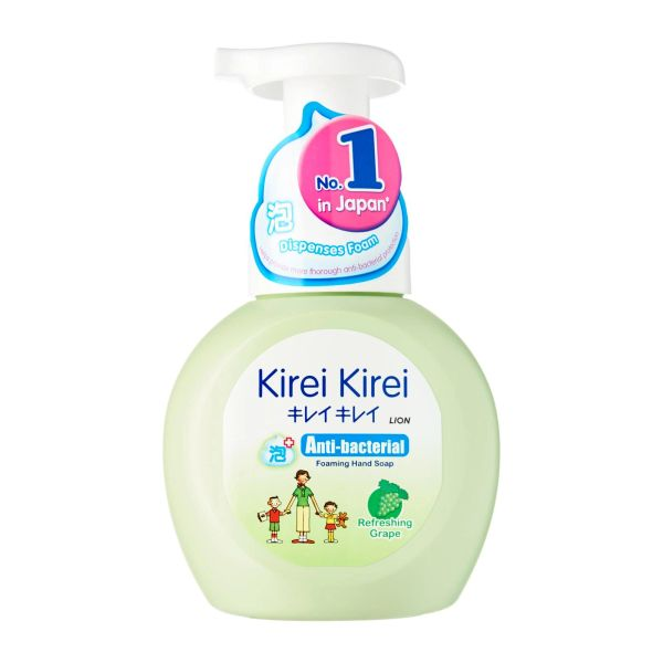 Kirei Kirei Refreshing Grape Anti-Bacterial Foaming Hand Soap 250 ml