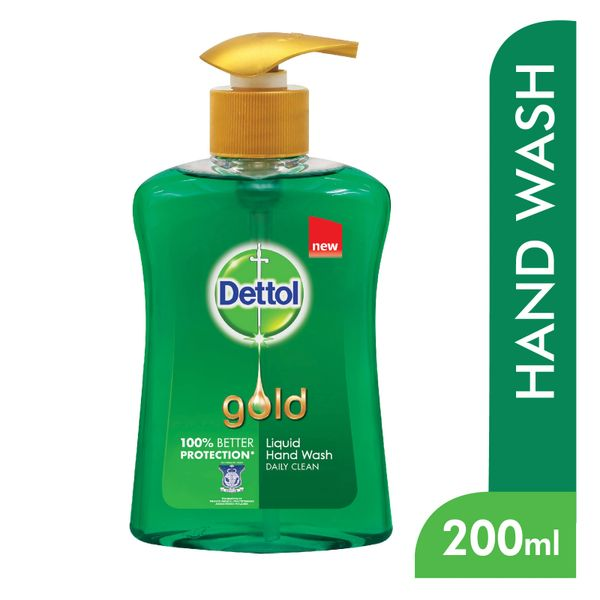 Dettol Gold Daily Clean Liquid Hand Wash 200 ml