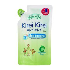 Kirei Kirei Refreshing Grape Anti-Bacterial Foaming Hand Soap Refill Pack 200 ml