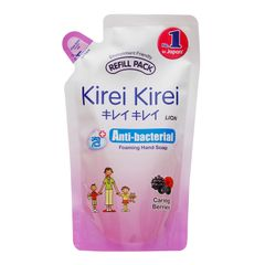Kirei Kirei Anti-Bacterial Foaming Caring Berries Hand Soap Refill Pack 200 ml