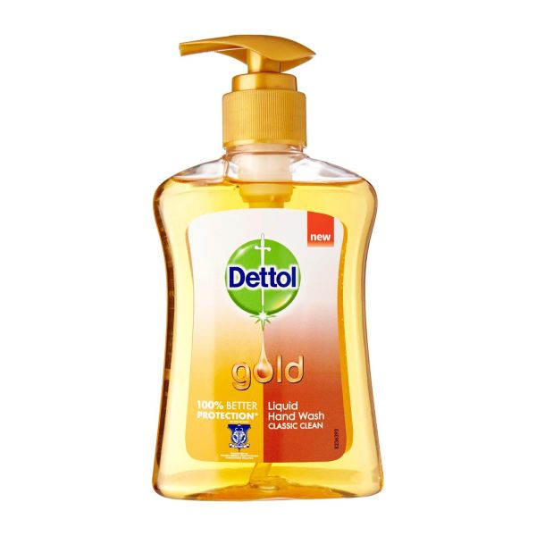 Dettol Gold Classic Clean Liquid Hand Wash 200 ml